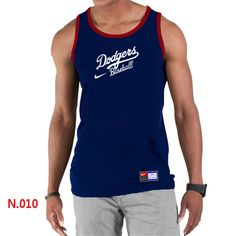 Nike MLB Los Angeles Dodgers 2014 Home Practice T-Shirt