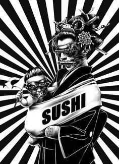 Sushi hey!