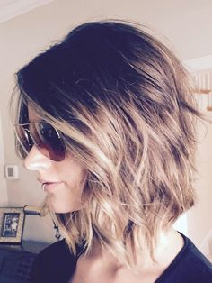 #bob #balayage #brunette #hair #haircut