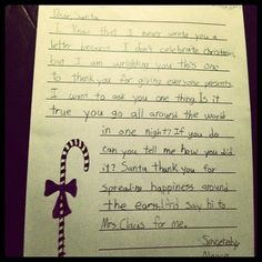 The Muslim fourth-grader who wrote a letter to Santa | The 30 Absolute Best Kids Of The Year
