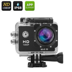 1080p Wi-Fi Sports Action Camera
