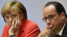 """Merkel and Hollande: """"We will strive to decarbonise fully the global economy over the course of this century,"""""""
