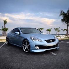 This #GenesisCoupe is ready to play. #KDM by hyundaiusa