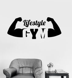 Vinyl Decal Gym Healthy Lifestyle Motivation Sport Fitness Bodybuilding Wall Stickers - Tap the pin if you love super heroes too! Cause guess what? you will LOVE these super hero fitness shirts! Fitness Bodybuilding, Bodybuilding Motivation, Healthy Lifestyle Motivation, Weight Loss Motivation, Logo Academia, Wall Stickers Unique, Wall Decals, Game Design, Gym Interior