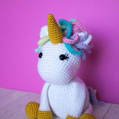 Free Crochet Unicorn Pattern is a perfect stuffed animal amigurumi. This is a great tutorial for beginners. This free crochet unicorn pattern was a long time in coming. If you have ever searched the internet, this is not the only free crochet This Little Girl, Crochet For Boys, Crochet Baby, Free Crochet, Amigurumi Patterns, Crochet Patterns, Easy Patterns, Crochet Unicorn Pattern Free, Free Pattern