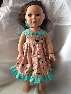 Doll Clothes - The Annabell Dress- $22