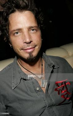 Chris Cornell during Audioslave's