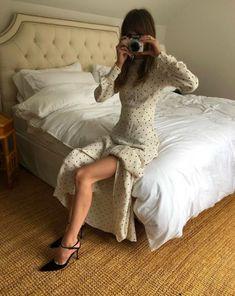 Christie Tyler in the Carnation Dress.