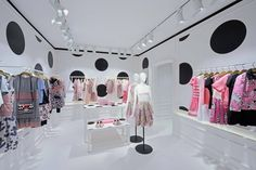 Retail Design Blog — Red Valentino Store by Maria Grazia Chiuri &...