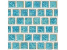 "National Pool Tile Mini Koyn 1 1/8"" x1 1/8"" Series Pool Tile 