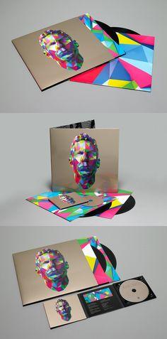 Jamie Lidells new self-titled album cover for all our #pixel loving #packaging peeps PD http://www.guitarandmusicinstitute.com