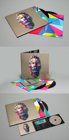 Jamie Lidell's new self-titled album cover for all our #pixel loving #packaging peeps PD