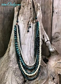 The Original Cheekys Brand ~ 5 Strand Leather Patina & Pearl Necklace & Earring Set! Thank you for shopping Cheekys! Cute Jewelry, Modern Jewelry, Beaded Jewelry, Vintage Jewelry, Jewelry Accessories, Diamond Jewelry, Jewlery, Jewelry Ideas, Jewelry Box