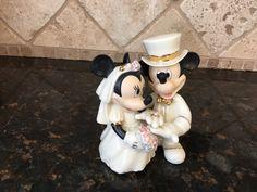 Lenox Disney's Showcase Minnie's Dream Wedding figurine / cake topper by DisneyDad29 on Etsy