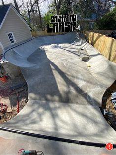 New Skate, Skate Surf, Backyard Skatepark, Cabana, Skateboard Ramps, Skate Ramp, Bay County, Winter Haven, Parking Design