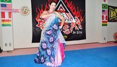 Dança do Ventre, a novidade no Pereira TC de Konan, Shiga-Ken. A professora Mahaila Melik, brasileira, a um mês no Japão, ministrará aulas de dança do ventr