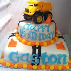Dump Truck birthday cake!