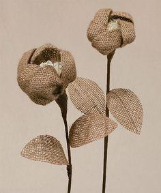 Look what I found on #zulily! Burlap & Lace Tulip Set #zulilyfinds