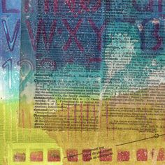Gelli® Printing—Faux Chine Collé Chine collé is a printmaking technique where lightweight paper is adhered to heavier paper as it's passed through a press with an inked plate. The result is a print on a collage. Watch this video to see how this process can be adapted for Gelli printing! Then get ready to print on fragile papers, brittle book pages, or other thin, delicate papers!