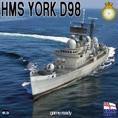 HMS YORK D98