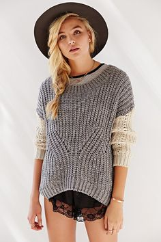BDG Day-In Day-Out Sweater - Urban Outfitters