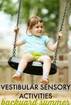 Sugar Aunts: Backyard Vestibular Sensory Activities for Summer