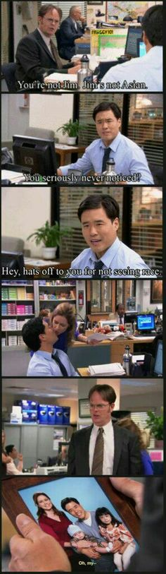 I loved this part of the office
