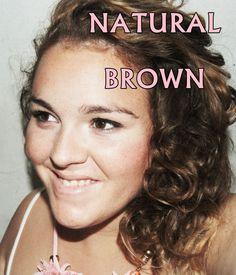 ... NATURAL BROWN ...
