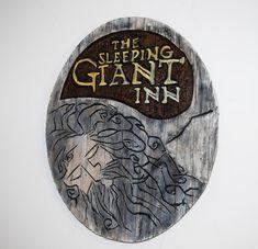 Skyrim Inspired Sleeping Giant Sign