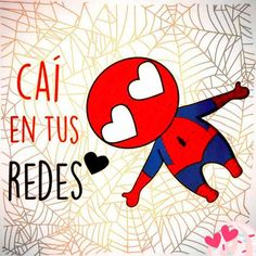Caí en tus redes - visit to grab an unforgettable cool Super Hero T-Shirt! Funny Love, Cute Love, Postar No Face, Images Kawaii, Videos Instagram, Fitness Video, Comics Love, Dc Comics, Mr Wonderful