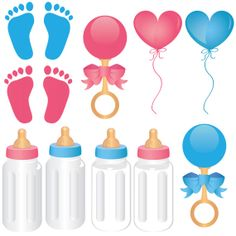 Baby Items Clip Art - PNG