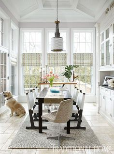 breakfast room | Traditional Home