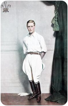 A more princely prince. Edward, Prince of Wales (Later, King Edward, and then Duke of Windsor)
