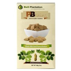 PBthins peanut butter crackers Bell Plantation, 198 g-Packung, der salzige feine Erdnussbutter-Snack - NEU im Sortiment #fitness #PBthins #BellPlantation #Portion125 #active12