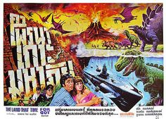 Thai horror movie posters from the 70's | Why So Serious? The Land That Time Forgot