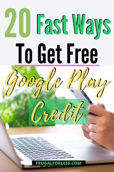 If you're an Android user, it's important to earn free Google Play credit since they allow you to purchase anything you could possibly want or need from the app store.  Finding ways to acquire free Google Play credits means that you don't have to purchase new apps or entertainment from the Google Play store out of pocket. Ways To Save Money, Make Money Online, How To Make Money, How To Get, How To Plan, Google Play Codes, News Apps, Make It Rain, Budgeting Finances