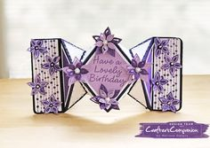 She's a Color Queen! #crafterscompanion #stampsbysara #ccgemini #stamping #diamondfoldcard