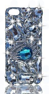 Amazon.com: Jersey Bling (TM) Swan BLING 3d Handmade Swarovski Crystal & Czech Rhinestone Iphone 5 case/cover with HUGE Gems, Designer Inspired: Cell Phones & Accessories