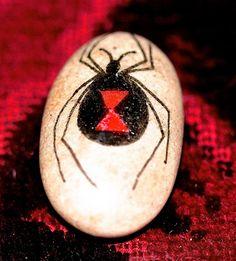 Black Widow Totem--True Story - Musings... by Mix Hart