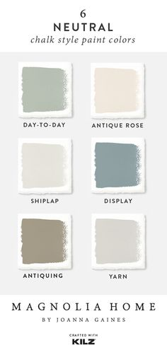 Color Magnolia Home by Joanna Gaines Color Magnolia Home by Joanna Gaines Beyond The Dyke beyondthedyke Farben 038 Tapeten Looking for a neutral paint color nbsp hellip makeover paint Color Palette For Home, Paint Color Palettes, Paint Color Schemes, Neutral Colour Palette, Paint Colors For Home, House Colors, Neutral Kitchen Colors, Chalk Paint Colors, Fixer Upper Paint Colors