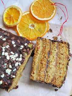 Królewski miodownik z marcepanem, czekoladą i polewą pomarańczową | sio-smutki! Monika od kuchni