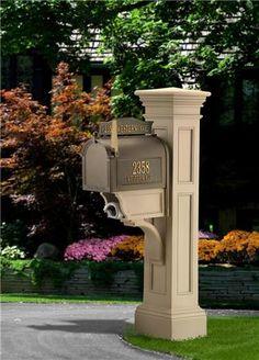 Liberty Mailbox Post, Best Mailbox Post, Mailbox Posts