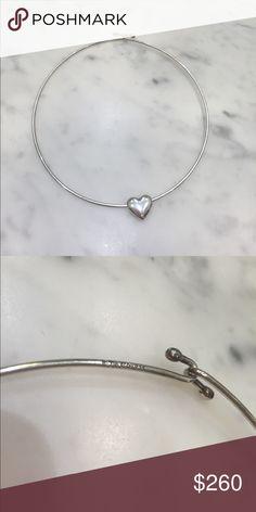 Tiffany & Co. Heart wire necklace Tiffany & Co. Silver Heart wire necklace. Tiffany & Co. Jewelry Necklaces