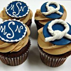 nautical cupcakes - Google Search