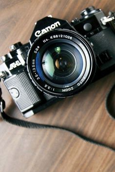 AE-1 my very first camera! And it's still working perfectly :)