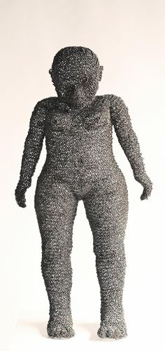 Wire sculpture by Lindelani Ngwenya, South Africa Contemporary African Art, Contemporary Sculpture, Abstract Sculpture, Sculpture Art, Wire Sculptures, South African Artists, Valley Of The Dolls, Global Art, Wire Art