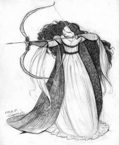 The Art Of Animation, Carter Goodrich / Princess Merida concept art Disney Concept Art, Disney Art, Disney Pixar, Pixar Concept Art, Character Design References, Character Art, Brave Characters, Concept Art Landscape, Digital Paintings
