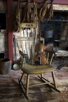 Fireside Fiddler
