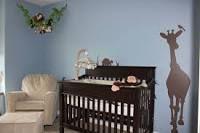 jungle nursery blue walls - Google Search