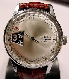 Vulcain Jump Hour watch. Love it!